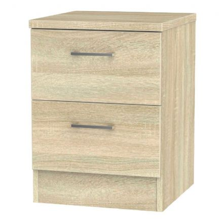 Devon 2 Drawer Bedside